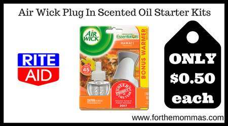 Air Wick Plug In Scented Oil Starter Kits