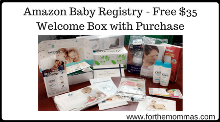 Amazon Baby Registry - Free $35 Welcome Box with Purchase ...