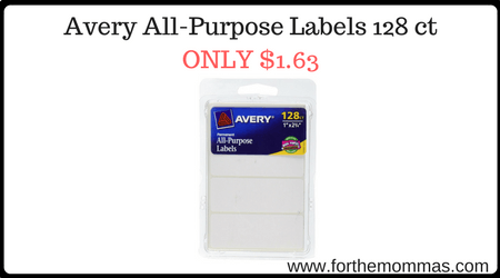 Avery All-Purpose Labels 128 ct