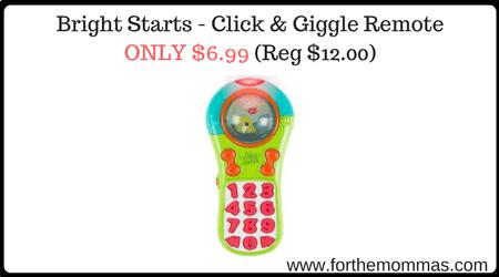 Bright Starts - Click & Giggle Remote