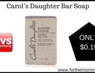 Carol's Daughter Bar Soap