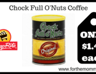 ShopRite: Chock Full O'nuts Coffee JUST $1.49 Each Starting 2/24!