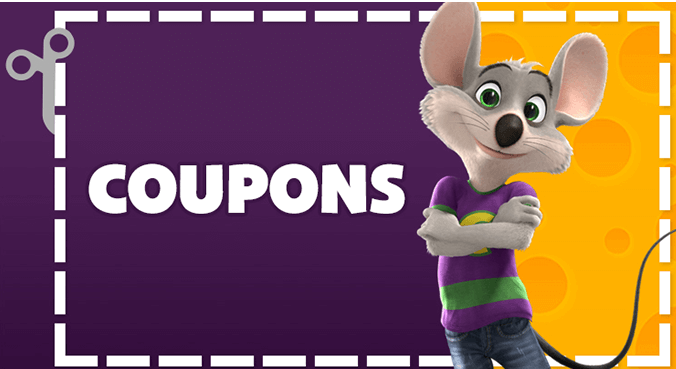 Find the best Chuck E Cheese coupons and deals for December Exclusive offers & bonuses up to % back!