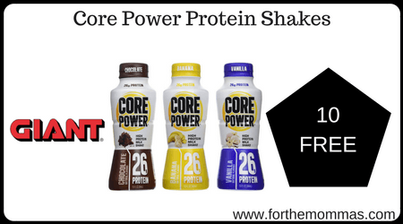 Core Power Protein Shakes