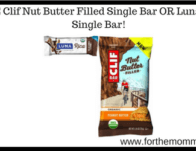 FREE Clif Nut Butter Filled Single Bar OR Luna Rica Single Bar