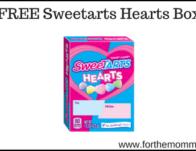 FREE Sweetarts Hearts Box
