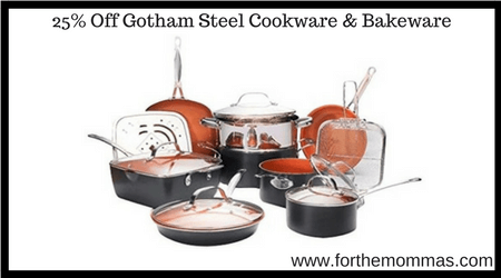 25 Off Gotham Steel Cookware Amp Bakeware Ftm