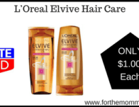 L'Oreal Elvive Hair Care