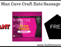 Man Cave Craft Eats Sausage
