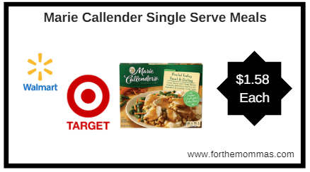graphic relating to Marie Callender Coupons Printable titled Walmart or Focus: Marie Callender Solitary Provide Food or Pot