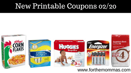 graphic about Tampax Coupons Printable identified as Printable Discount codes Roundup 02/20: Preserve Upon Huggies, Seattle