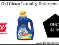 Oxi Clean Laundry Detergent