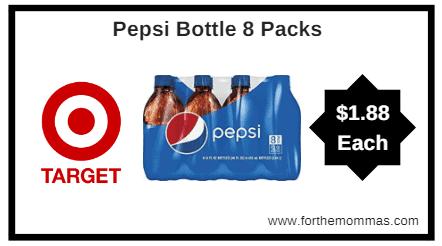 Target: Pepsi 8 Packs! $1.88