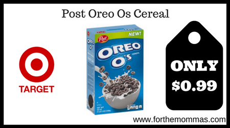 Post Oreo Os Cereal