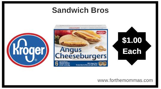 Kroger MEGA Sale: Sandwich Bros. ONLY $1.00