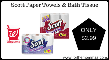 Scott Paper Towels & Bath Tissue