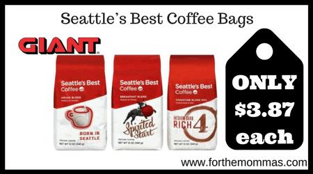 Seattle's Best Coffee Bags