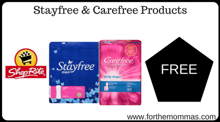 Stayfree & Carefree Products