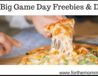The Big Game Day Freebies and Deals