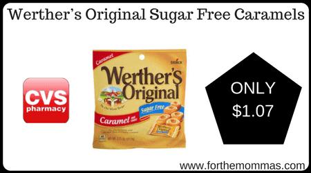 Werther's Original Sugar Free Caramels
