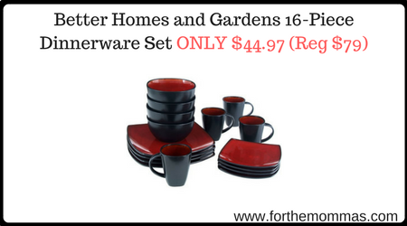 Better Homes And Gardens 16 Piece Dinnerware Set Only Shipped Reg 79 Ftm
