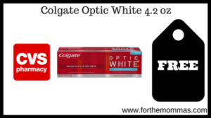 Colgate Optic White 4.2 oz