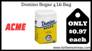 Domino Sugar 4 Lb Bag