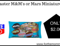 Easter M&M's or Mars Miniatures