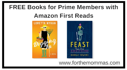 FREE Books for Prime Members with Amazon First Reads - FTM