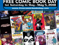 Free Comic Book Day on May 4th
