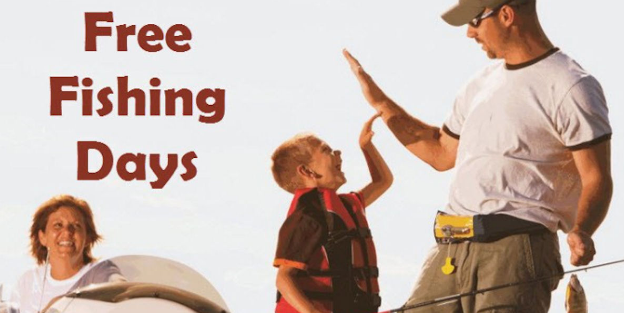 Free Fishing Days 2018