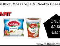 Galbani Mozzarella & Ricotta Cheese
