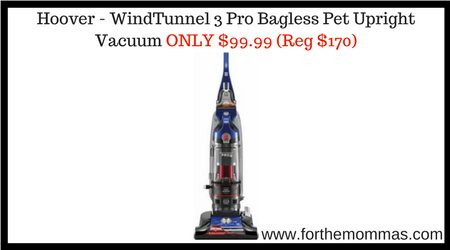 Hoover Windtunnel Pro Bagless Pet Upright Vacuum Only