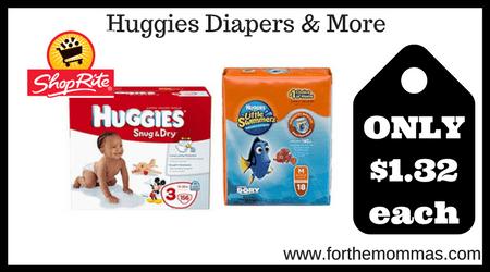 Huggies Diapers & More