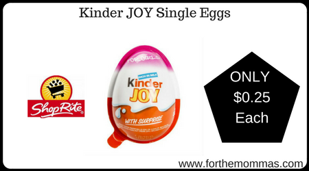 Kinder JOY Single Eggs