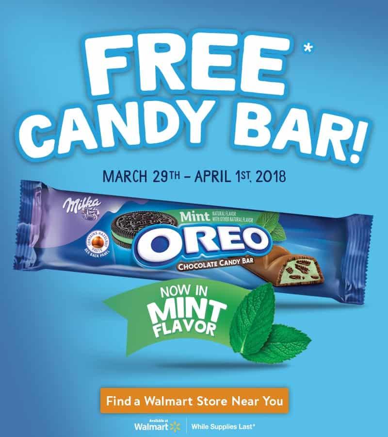 OREO Mint Chocolate Candy Bars