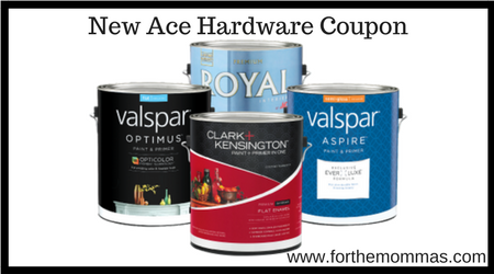 photo relating to Ace Hardware Printable Coupon titled Ace Components: Acquire A single Gallon of Paint, Take 1 Cost-free - FTM