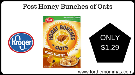 Post Honey Bunches of Oats