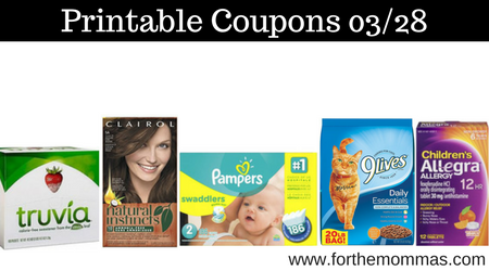 image regarding Printable Pampers Coupons identified as Most up-to-date Printable Coupon codes 03/28: Help save Upon Pampers, Truvia