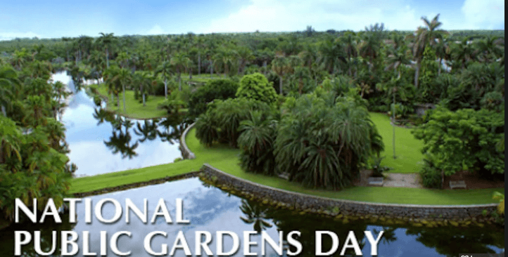 free entry on national public gardens day ftm
