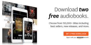 Sign up for Audible FREE for 1 Month + 2 Free Books