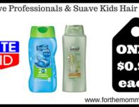 Suave Professionals & Suave Kids Hair Care