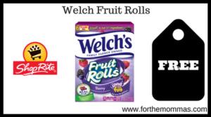 Welch Fruit Rolls