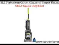 BISSELL Turboclean Carpet Cleaner & Carpet Shampooer