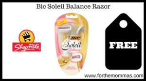 Bic Soleil Balance Razor