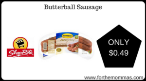 Butterball Sausage