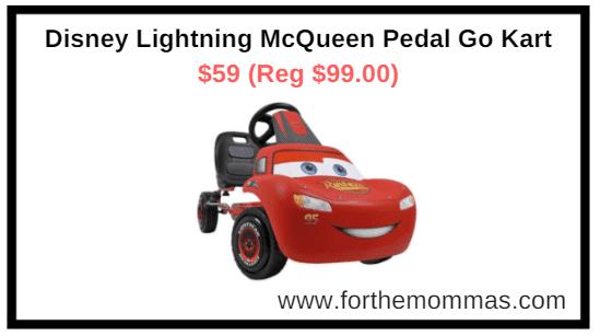 Walmart.com: Disney Lightning McQueen Pedal Go Kart $59 (Reg $99.00)