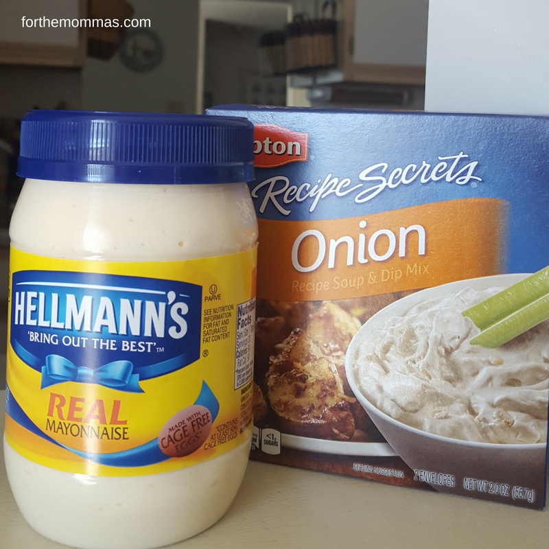 Extra Creamy Onion Dip Recipe