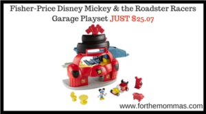Fisher-Price Disney Mickey & the Roadster Racers Garage Playset