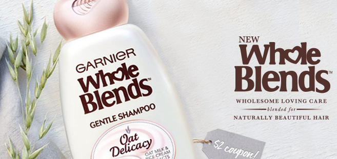 Free Garnier Whole Blends Hair Care Samples (FIRST 250,000!)